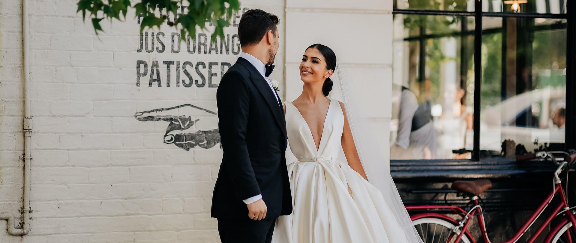 Michelle & William Wedding Video Filmed at Australia