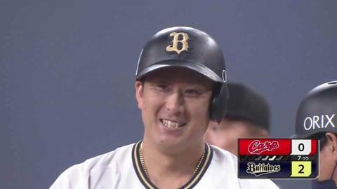 【7回裏】バファローズ・杉本 値千金の先制2点タイムリーヒットを放つ!!  2021/6/11 B-C