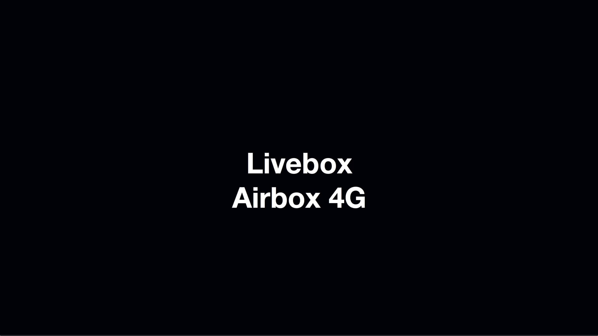 Airbox ORANGE commercial