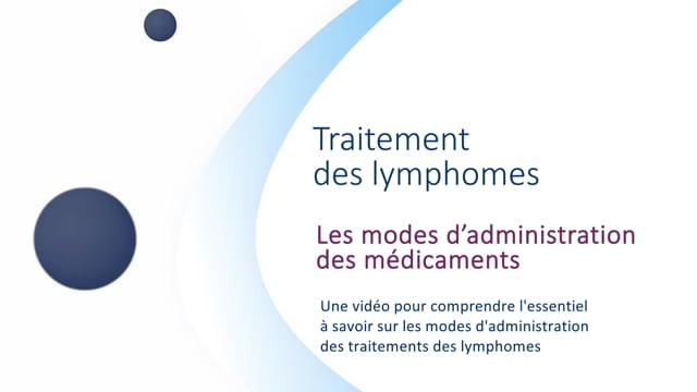 Miniature de la vidéo Les modes d'administration des médicaments