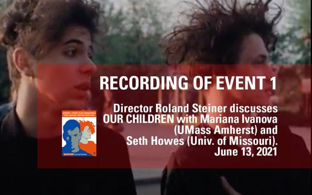 Discussion with Director Roland Steiner