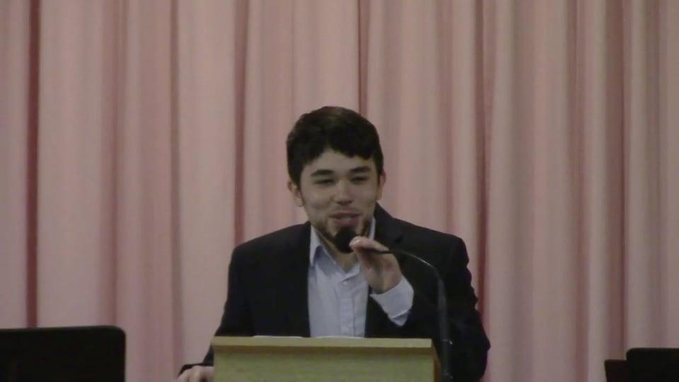 Sunday, June 13, 2021, Sermon by Justin Okamoto