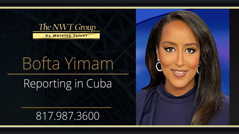 Reporting in Cuba