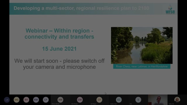 WRSE Webinar on In-region transfers (includes Thames to Affinity Transfer)