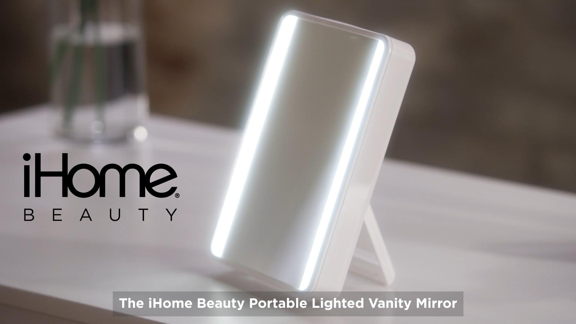 iHome Beauty Vanity Portable Mirror & Speaker