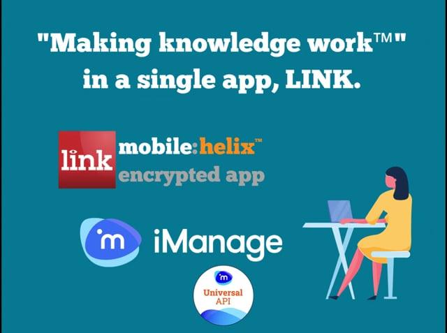 LINK App: iManage ConnectLive 2021 1:59