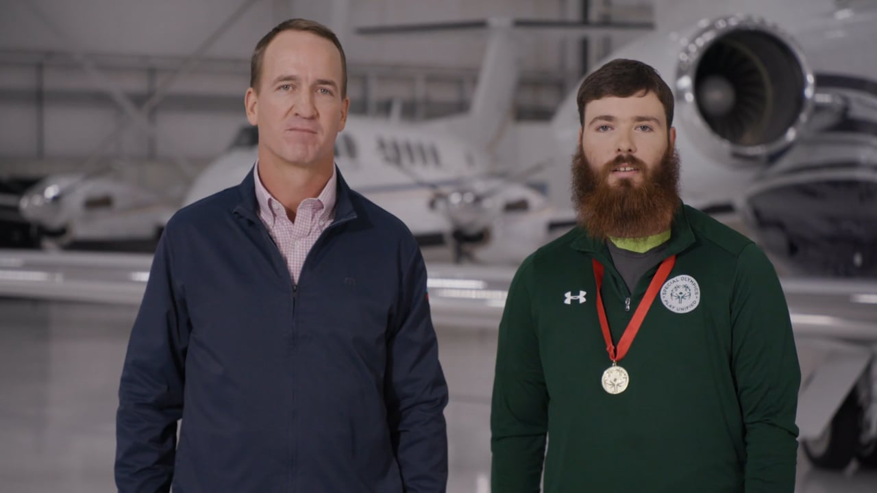 Peyton Manning announced as honorary chair of 2022 Special Olympics Airlift