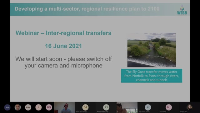 WRSE webinar on Inter-regional options (including the GUC)