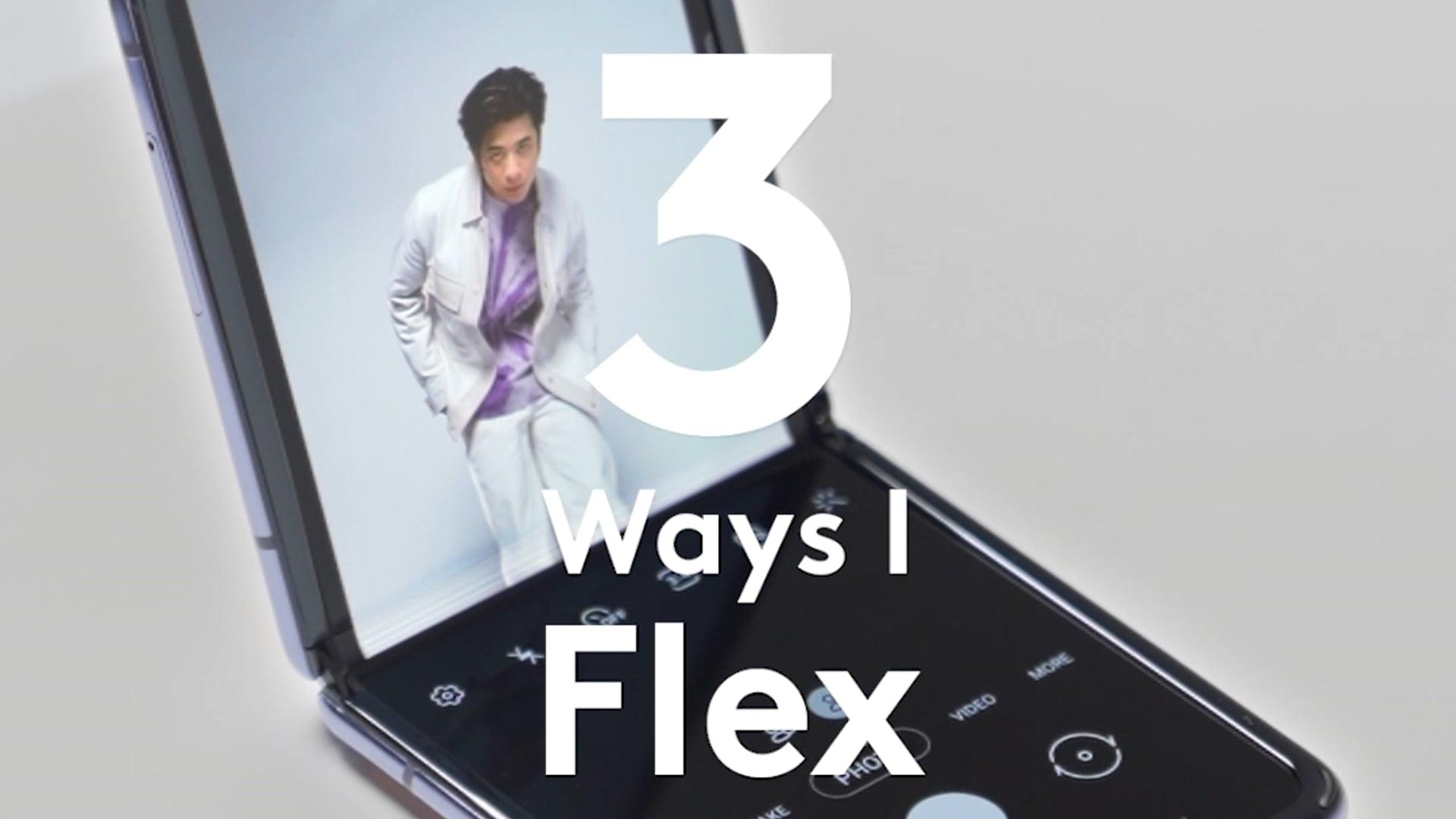 """Samsung & GQ - """"3 Ways I Flex"""" with Porsche Sivakorn"""