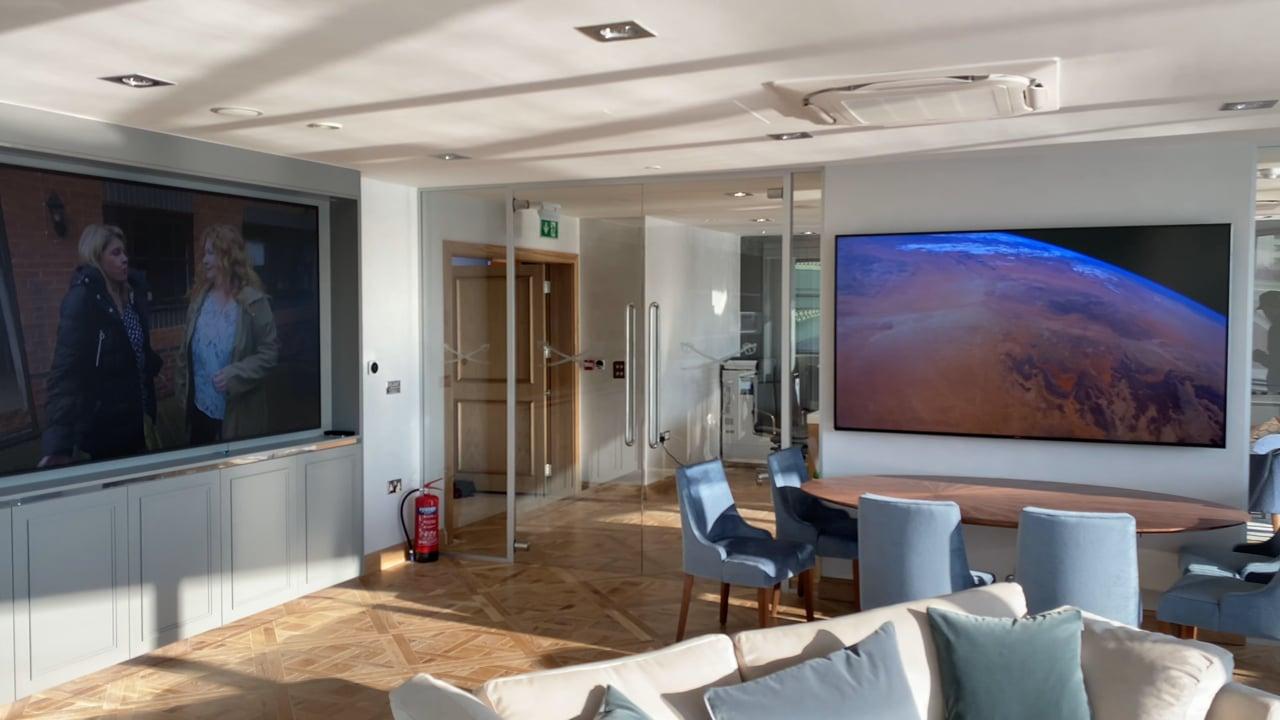 Office AV Installation And LED Video Wall