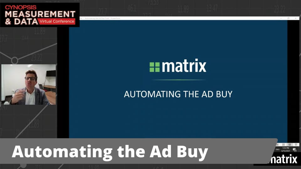 Automating the Ad Buy