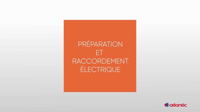 564186512 CURV Genius 100T - Préparation & raccordement électrique