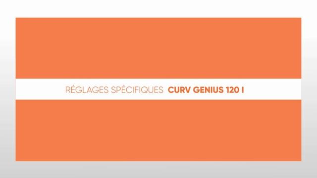 564190644 CURV Genius 120I - Réglages