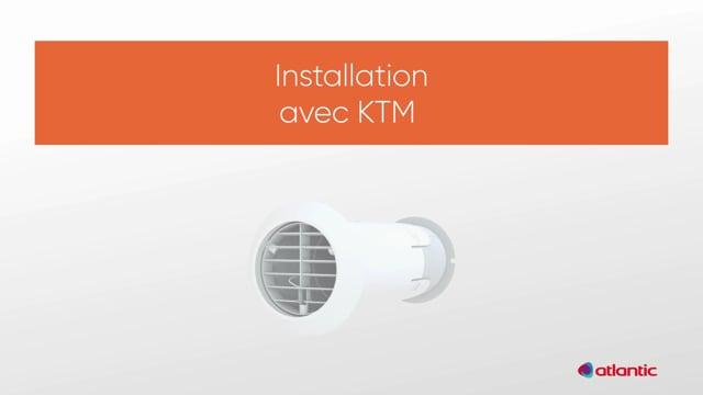 564211587 CURV Confort 100PIR - Fixation KTM
