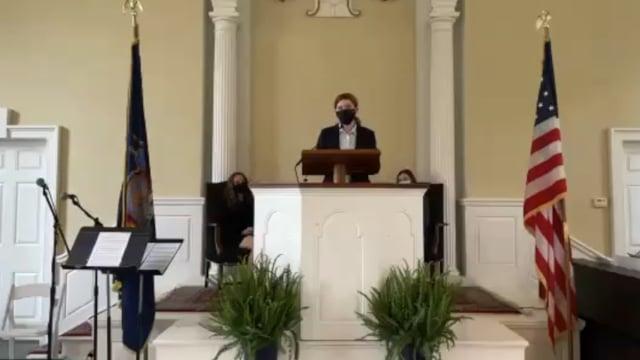 Millbrook Chapel Talk - Ashlyn Porter '24.mov