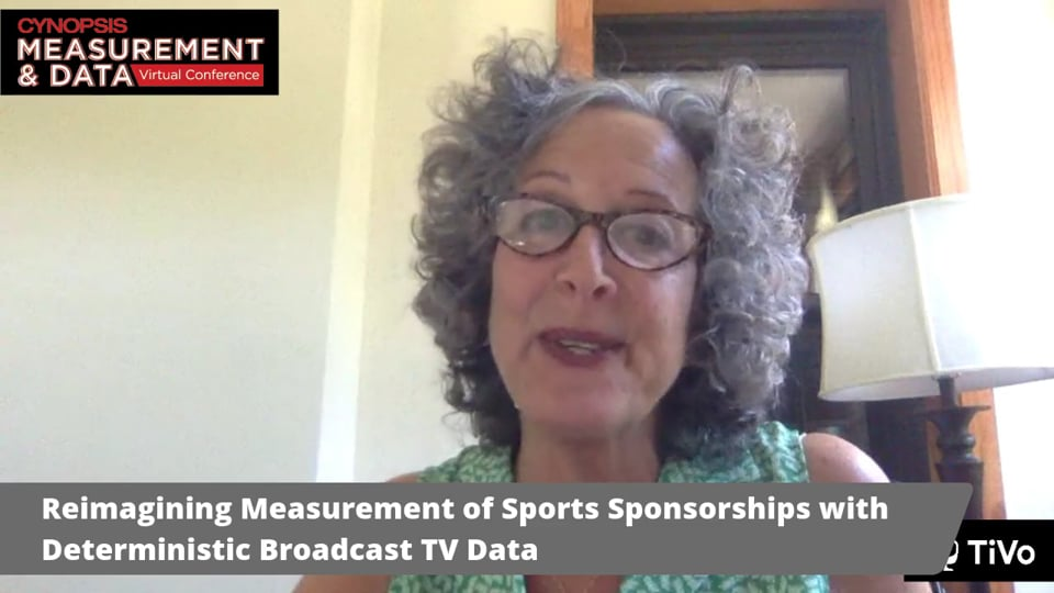 Reimagining Measurement of Sports Sponsorships with Deterministic Broadcast TV Data