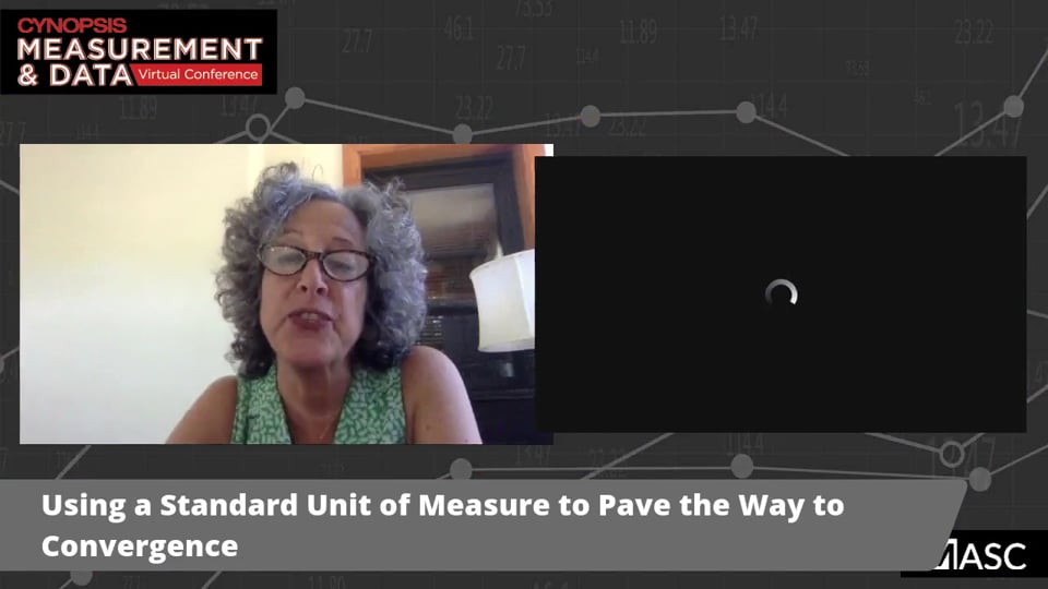 Using a Standard Unit of Measure to Pave the Way to Convergence