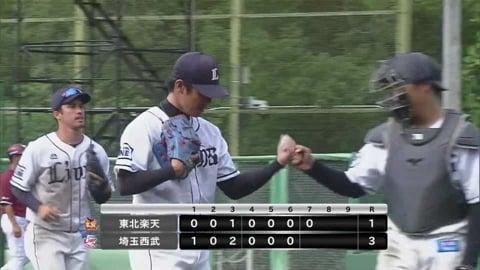 【ファーム】ライオンズ・吉川 7回1失点の好投を見せる!! 2021/6/18 L-E(ファーム)