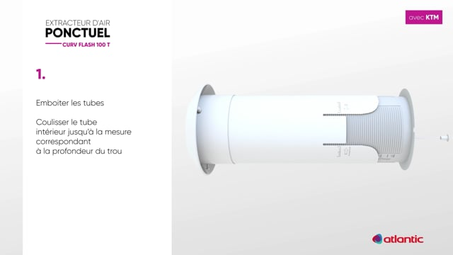 564529648 CURV Flash 100T - Fixation KTM