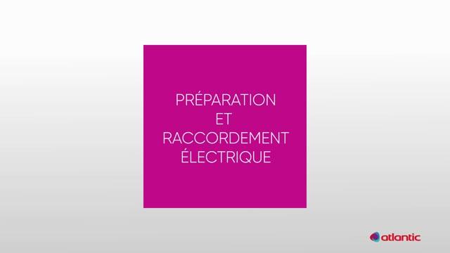 564533924 CURV Flash 100PIR - Préparation & raccordement électrique