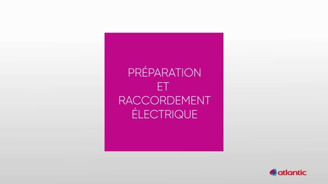 564534094 CURV Flash 150I - Préparation & raccordement électrique