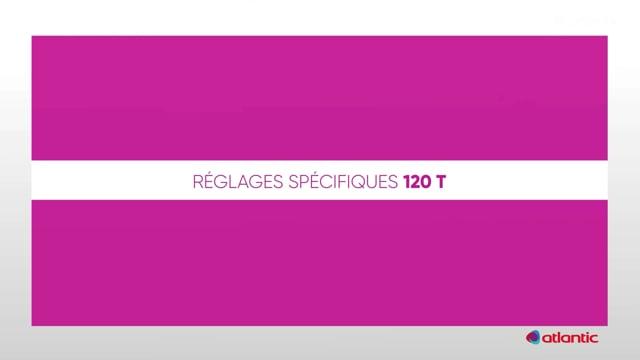 564536520 CURV Flash 120T - Réglages