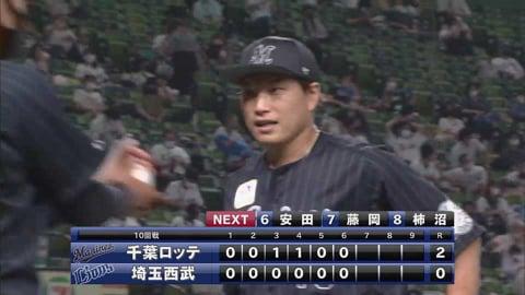 【6回裏】マリーンズ・岩下 6回無失点7奪三振の好投を見せる!! 2021/6/18 L-M