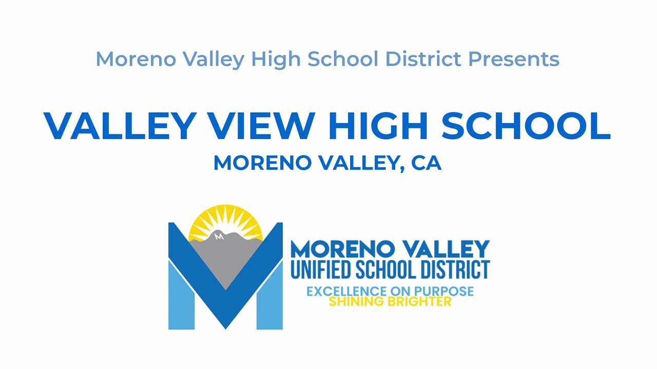 Valley View High School 2021 PM Graduation - Commencement in Moreno Valley
