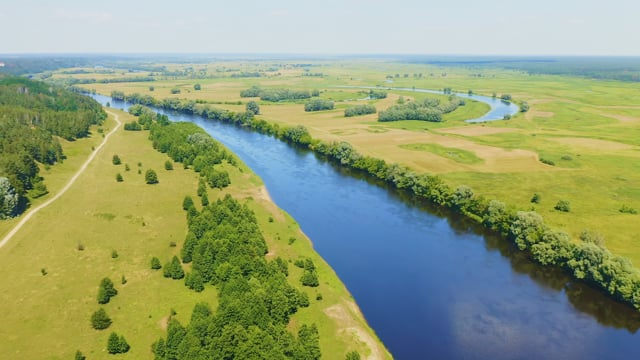 Scenic Rivers of Ukraine from Above, Desna and Snov Rivers