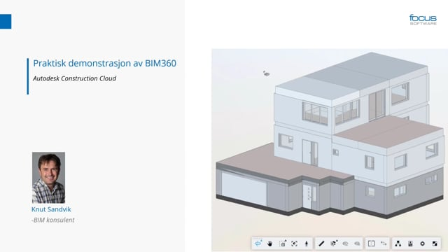 Praktisk demonstrasjon av BIM-modeller i BIM 360