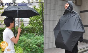 A wearable Umbrella? It's happening!