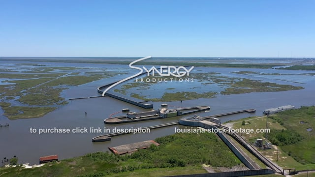 2834 IHNC Lake Borgne Surge barrier MRGO Mississippi River Gulf Outlet