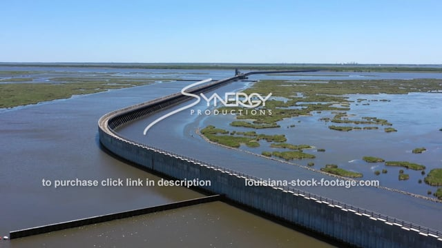 2844 New Orleans hurricane storm surge wall flood protection