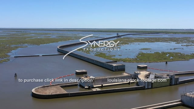 2847 hurricane storm surge protection flood wall New Orleans