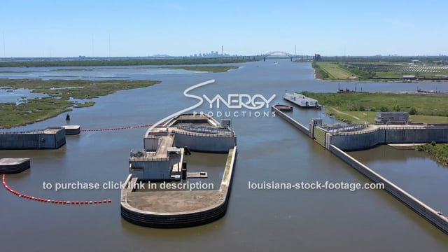 2829 Epic aerial Mississippi River Gulf Outlet MRGO city of New Orleans