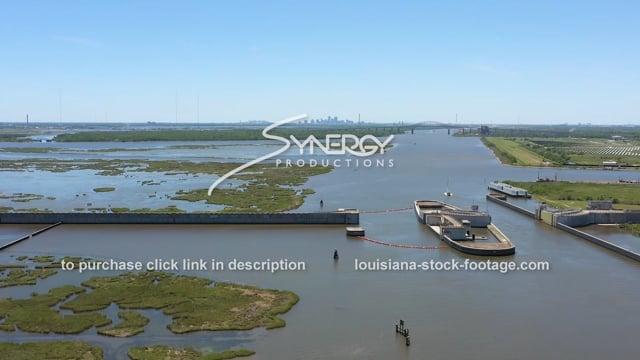 2828 New Orleans hurricane flood protection barrier MRGO