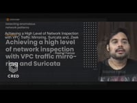 Achieving a high level of network inspection with VPC traffic mirroring and Suricata