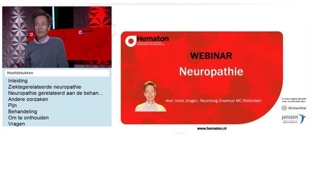 Webinar neuropathie