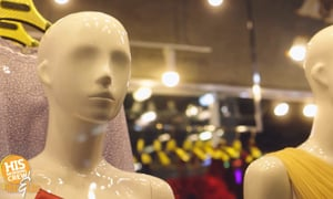 Sounds like a new tv show! Mannequins in Space!