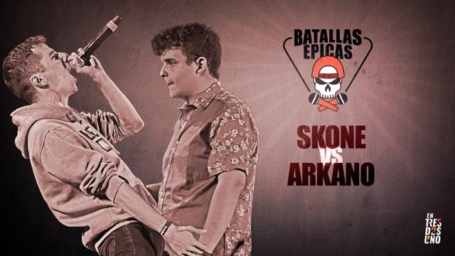 SKONE vs ARKANO | Batallas Épicas by Invert