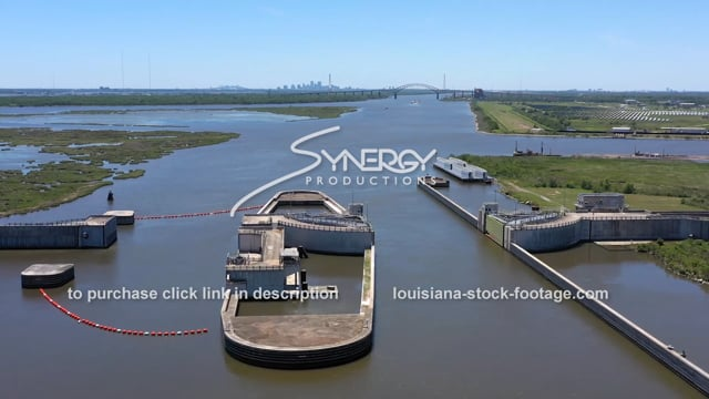 2839 New Orleans MRGO locks mississippi river gulf outlet canal