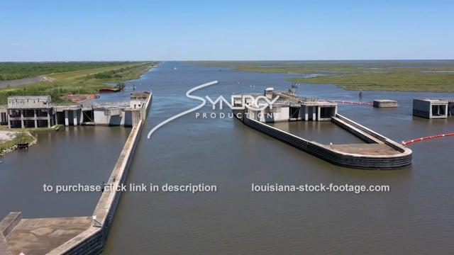 2841 MRGO floodgate locks Mississippi river gulf outlet canal