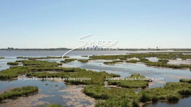 2853 New Orleans erosion land loss sea level rising
