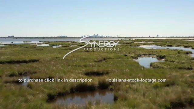 2858 New Orleans Louisiana coastal erosion land loss