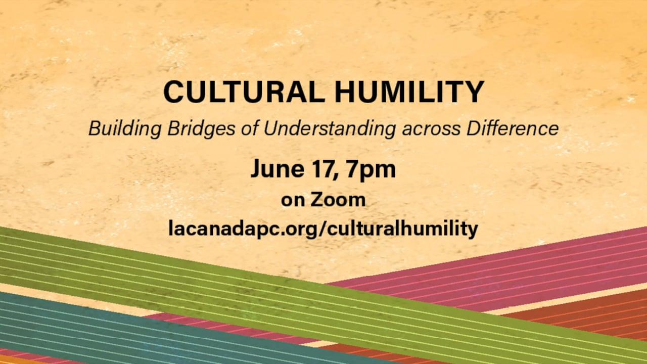 Cultural Humility Webinar