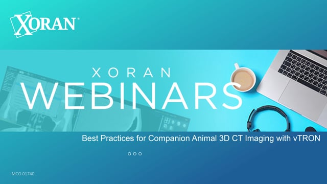 Webinar: Russell Jahnke - Best Practices for Companion Animal 3D CT Imaging with vTRON
