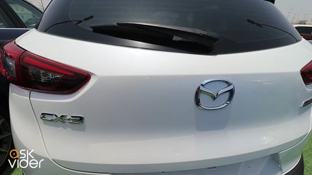 MAZDA CX3 - WHITE - 2019