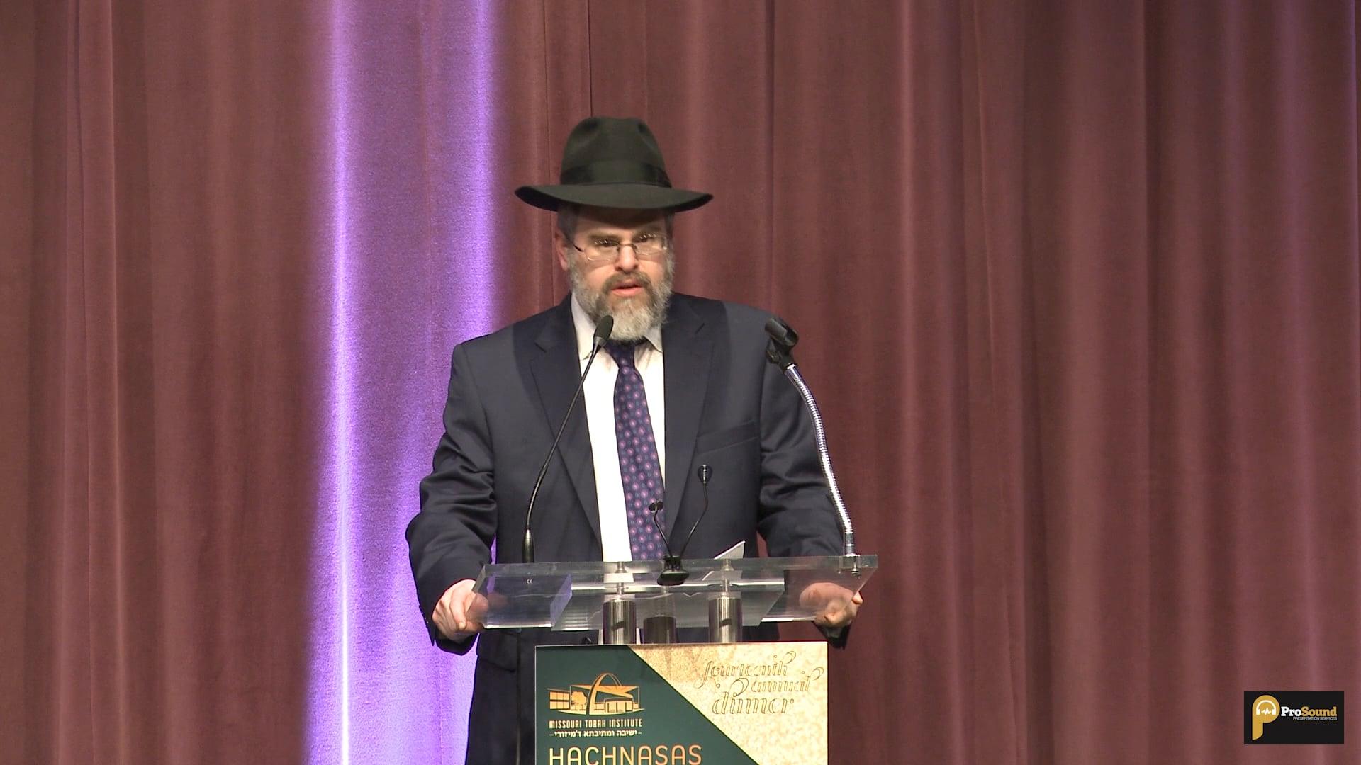 Hachnasas Sefer Torah Speeches