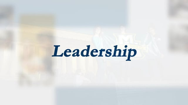 'Time to Rise' Campaign | Leadership, Marquette University
