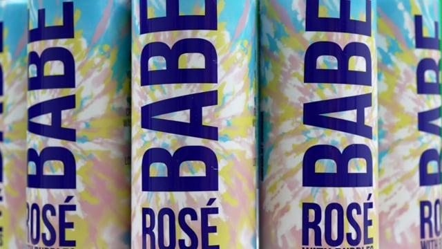 Babe Rosé Tie Dye